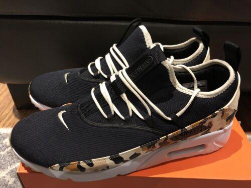 Nike Air Max 90 EZ Running Shoes Sneaker Mens Sz 8 Black Brwn Camo AO1745-005