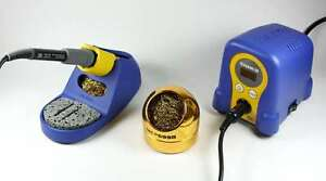 hakko fx888d soldering station with 599b tip cleaner ebay. Black Bedroom Furniture Sets. Home Design Ideas
