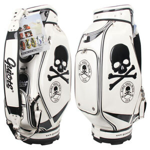 Image Is Loading Brand New Guiote King Skull Golf Staff Bag