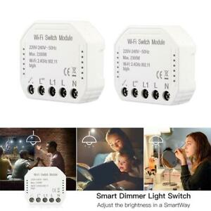 WiFi-Smart-Switch-Light-Switch-DIY-Breaker-Module-Voice-Phone-APP-Remote-Control