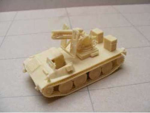 MGM 080-007 1 72 Resin WWII German Ardelt Weapons Carrier with 15 cm SIG 33