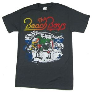 the beach boys line drawing stage image grey t shirt new official