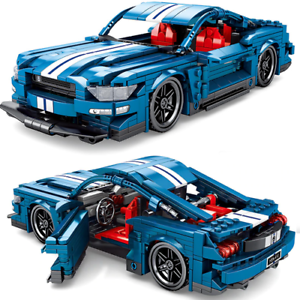 Custom-Technic-Mustang-racecar-x-42056-42083-42110-Building-Blocks-Bricks-MOC