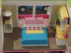 Lego-Friends-3315-Olivia-039-s-House-Bedroom-Tile-Floor-Remodeling-Kit