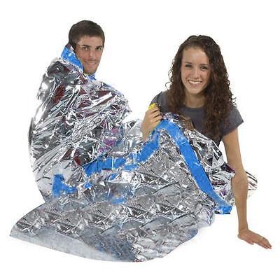UN New Emergency Reusable Waterproof Rescue Space Thermal Sleeping Bag 100x200cm