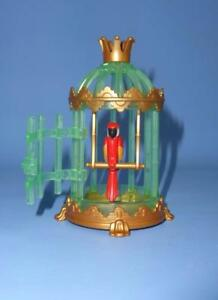 Playmobil-Bird-Cage-amp-Parrot-Green-Crystal-Fantasy-Fairy-Palace-Castle-RARE