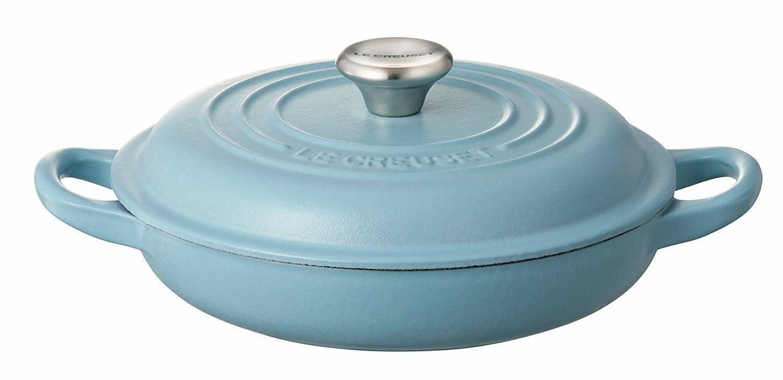 Le Creuset Buffet Cocotte en fonte 18 cm Terrasse Bleu Induction 21032-18-673