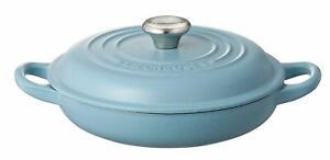 Le Creuset Buffet Casserole Cast Iron 18cm Terrace Blue Induction 21032 18 673 24147297055 Ebay