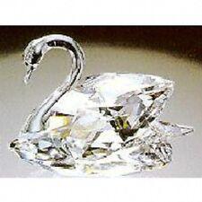 "Swarovski Crystal ""MEDIUM SWAN"" Mint Condition-Complete with Original Box & Cert"