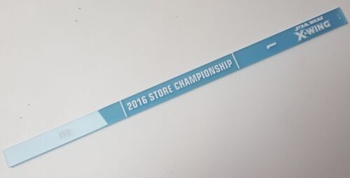 2016 Store Champs Range Ruler Star Wars X-Wing Miniatures Acrylic Promo