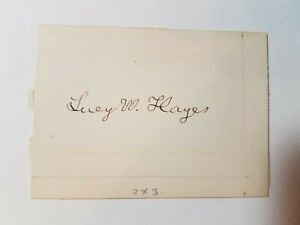 Lucy-Webb-Hayes-Signature-of-the-First-Lady-of-the-United-States