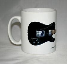 Guitar Mug. Keith Richards' Fender Telecaster Custom Illustration.