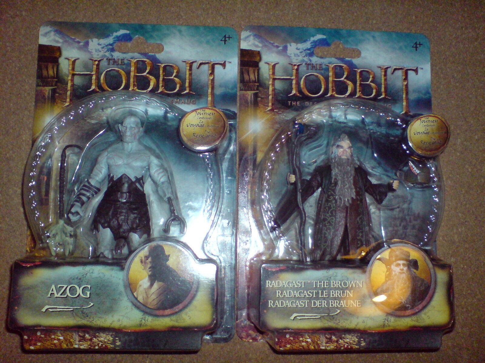 El Hobbit  la Desolación de Smaug - 3.75  Azog + Radagast W2 Figura De Acción Nueva V 3