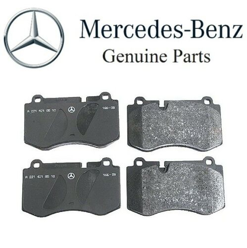 For Mercedes C216 CL W221 V221 S600 S R230 SL Class Front Brake Pad Set GENUINE