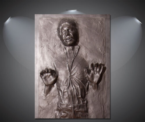 A0 Han Solo Frozen in Carbonite Star Wars Vintage Movie Poster A1 A4 A2 A3