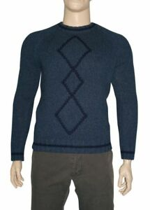Etro-Sweater-Crew-Neck-Wool-Size-L-Made-in-Italy-Discount-50