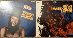 Hugh Masekela Vinyl Lp Masekela's Latest & Emancipation UNI Records African