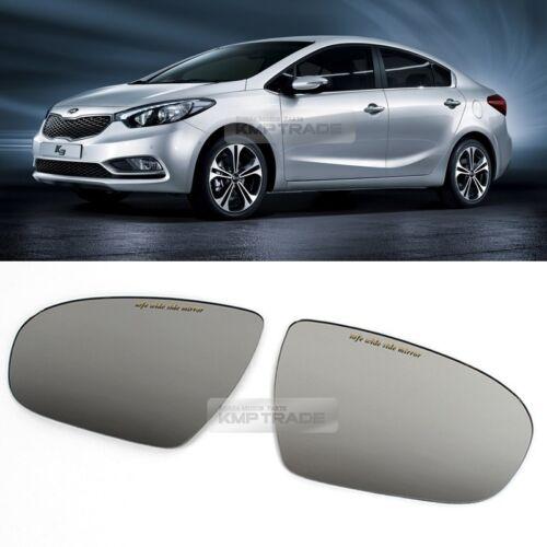 Sun Shade Rear View Front Side Door Mirror Glass for 2013-2018 Cerato K3 Sedan