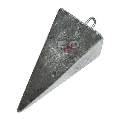 Piombo Piramide Lunga anello inox grezza pesca surfcasting Fondo mare FEU