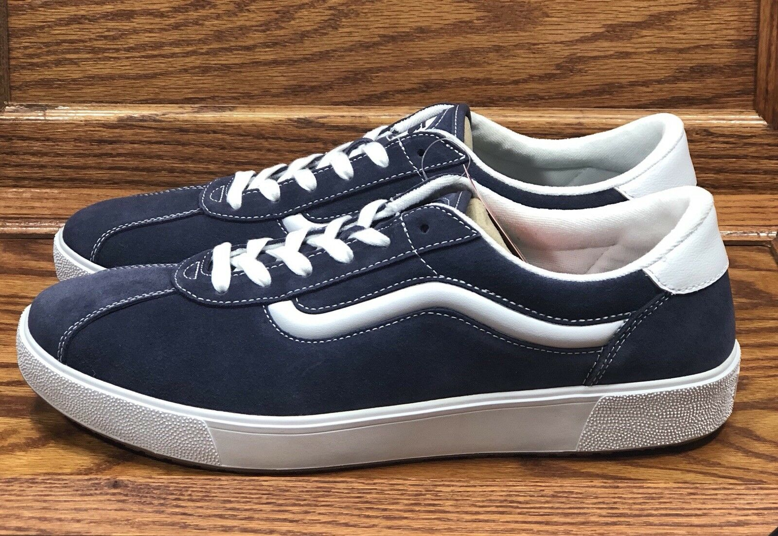 Vans Wally 3 Varsity Sport '73 Navy True White shoes Size Men 7.5 Women 9