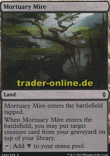 2x Mortuary Mire Battle for Zendikar Magic Totenschlamm