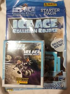 ICE AGE 5 COLLISION COURSE STICKER COLLECTION 50 PACKETS & STARTER PACK NEW