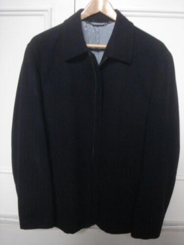 Wool Zip Size St Navy Large Front Dupont Jacket xwqYCYFI