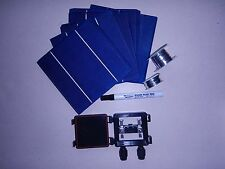 40  6x6 high efficient solar cell kit-diy solar panels,jbx,flux pen,T+B wire