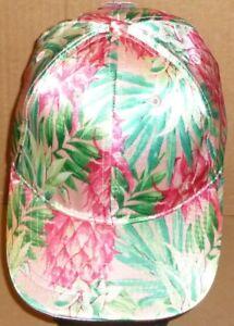 Women Satin Baseball Cap Hat Solid Floral Adjustable Time and Tru