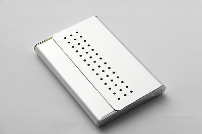 Troika Neu Visitenkartenbox Visitenkarten Box Aus Metall Etui Aufsteller Spender Ebay