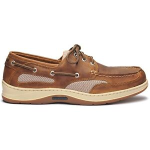Sebago-Clovehitch-II-Fgl-Waxed-Brown-Cinnamon-922-Boat-Shoe-Men-039-s-sizes-7-15-NEW
