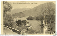 ITALY 139 CHIESA DE SALA e ISOLA COMACINA -Lago di Como (Edit.Brunner & C)