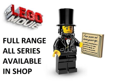 Lego abraham lincoln lego movie series unopened new factory sealed