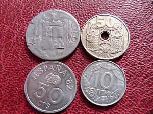 Lot Espagne centimos - France - Région: Europe Pays: Espagne Lot: Lot, Collection - France