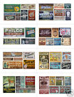 N Scale Ghost Sign Decals MEGA SHEET #6- Weather Your Buildings & Structures!
