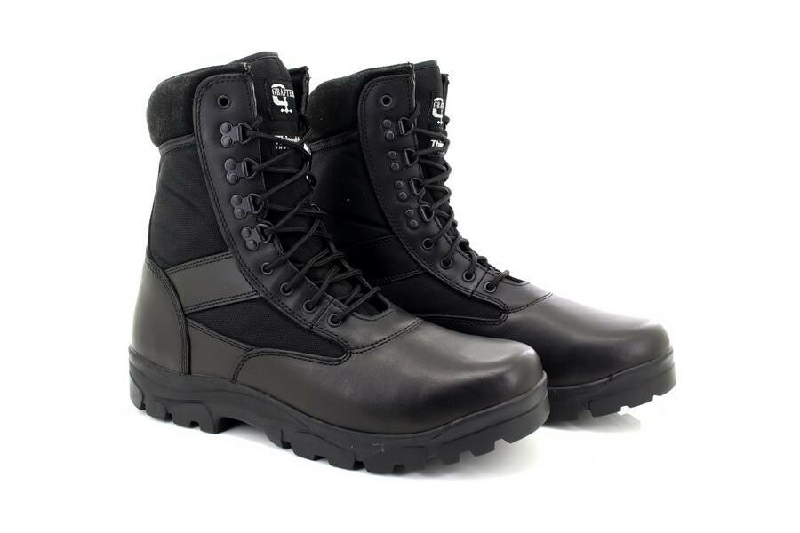 Men's/Women's Grafters G-FORCE M668 Unisex Leather Combat Uniform Military Combat Leather Boots Black Brown Big clearance sale luxurious Clearance sale NG159 beb90c