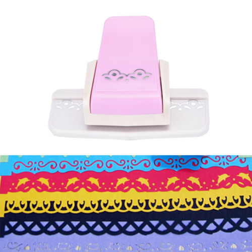 Fancy border punch S flower design  embossing Punch scrapbooking paper cuttRASK