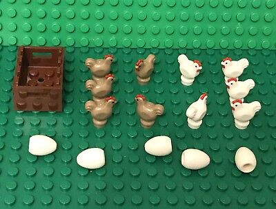 Mini Figures Roasted Chicken Foods Lego X5 New Complete Turkey With Drumsticks