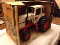 Case 2590 Tractor Vintage 1/16 Ertl Co. Box No 269 Black Muffler Edition Toy