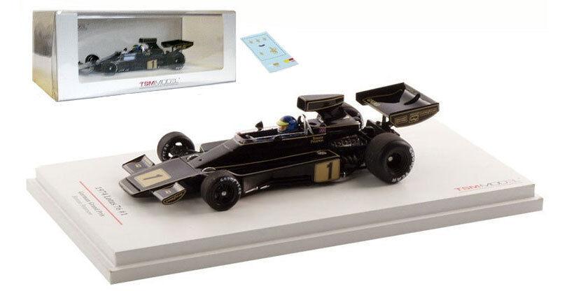 Truescale Lotus 76 'JPS' German GP 1974 - Ronnie Peterson 1 43 Scale