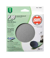 Shopsmith Sanding Disc 5 Medium 80 Grit 15-pack 12001