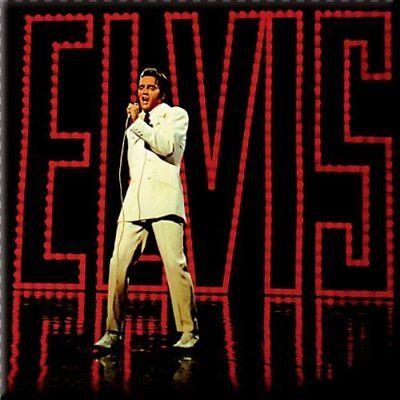 Brioso Elvis Presley Fridge Magnet Calamita '68 Special Official Merchandise Un Rimedio Sovranazionale Indispensabile Per La Casa