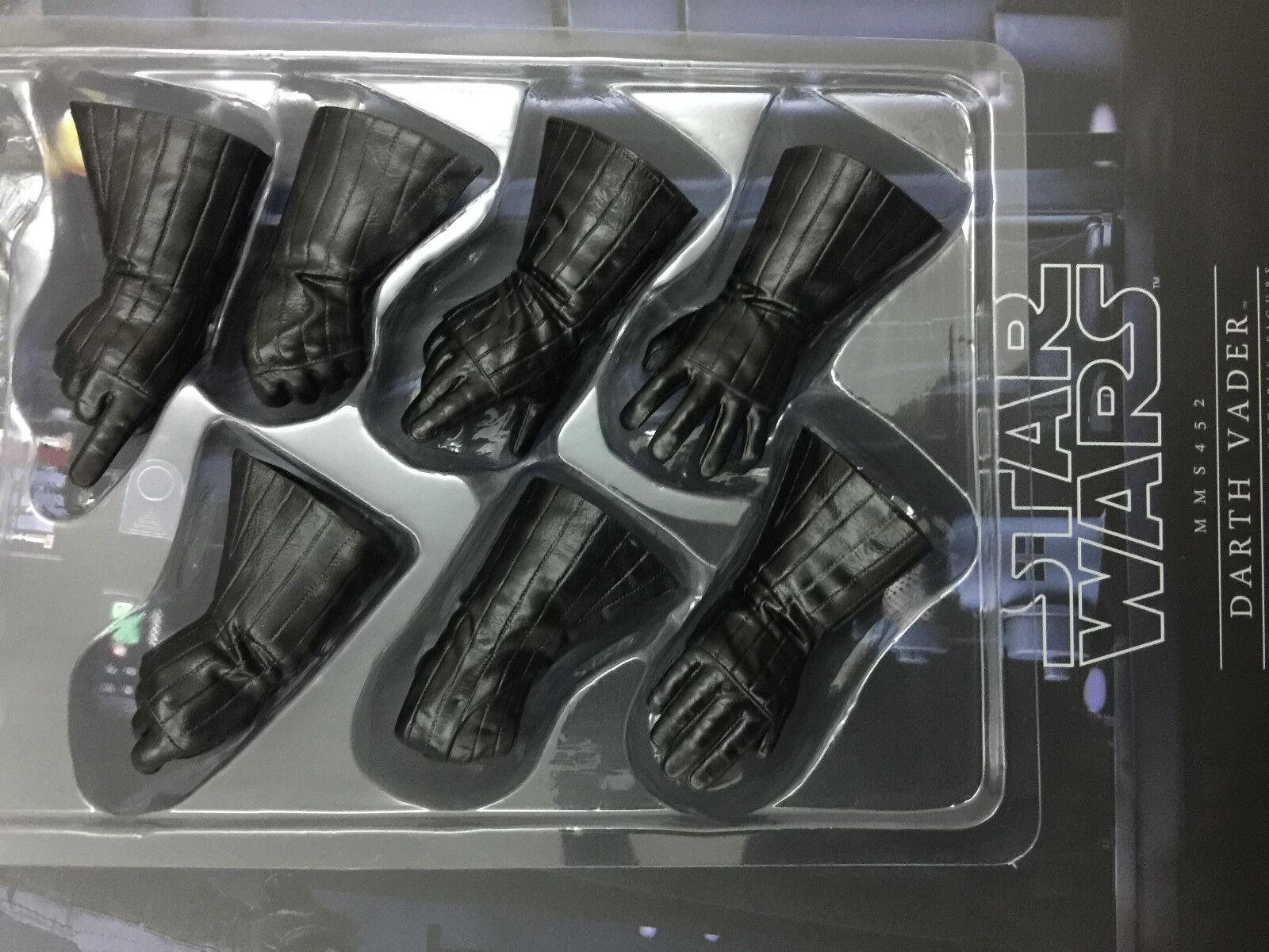 Hot Juguetes Estrella War Darth Vader MMS452 Imperio Contraataca-Guantes Set