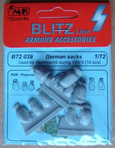 CMK B72039 BLITZ LINE WWII Wehrmacht Säcke Resin Kit 1:72