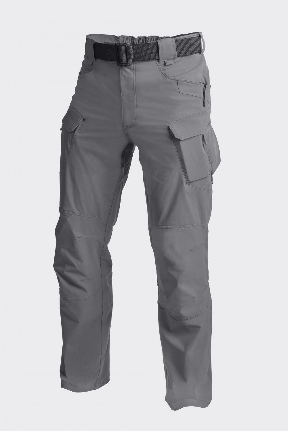 Helikon Tex Otp Tactical Outdoor Trekking Pantaloni Shadow gris Large Long