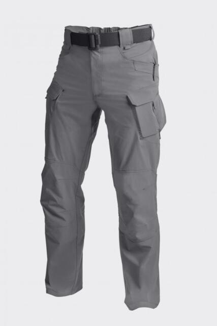 Helikon Tex OTP Táctico Senderismo Exterior Pantalones Sombra Gris Grande Grande