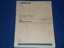 CAT CATERPILLAR 446 BACKHOE LOADER PARTS BOOK MANUAL S/N 6XF1-UP