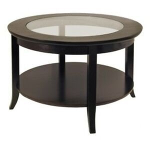 Tables See More Winsome Genoa Glass And Shelf Coffee Table 922