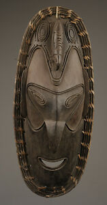 Masque-d-039-esprit-Angoram-spirit-mask-art-tribal-papou