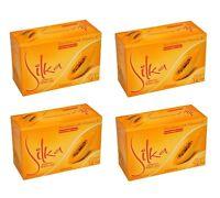 4 Pack Silka Papaya Whitening Herbal Soap W/ Vitamin E 4x135g (genuine/original)